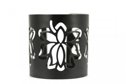 Bracelet fantaisie baroque noir