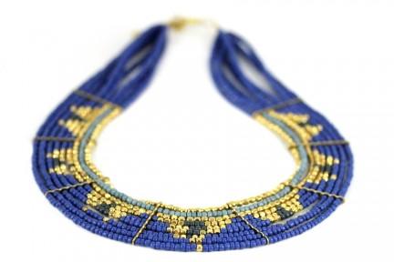 Collier navajo perles turquoise