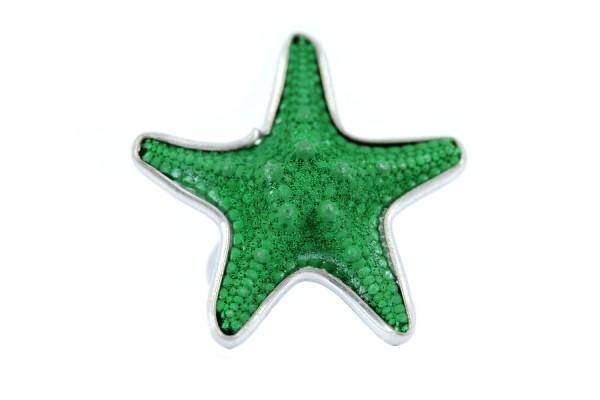 Bague étoile de mer Jade