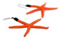Boucles d'oreilles forme étoile de mer