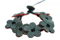 Bijoux bracelet en galuchat de Thailande