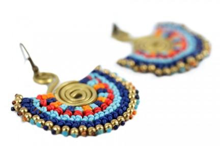 Boucles d'oreilles amérindiennes