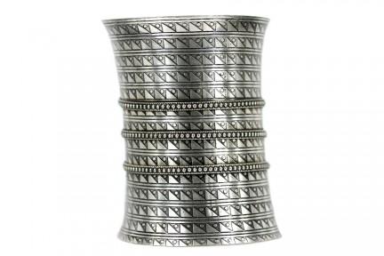 Bracelet argent trois anneaux entralacés