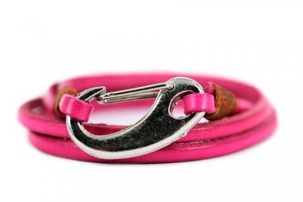 Bracelet cuir multirang femme