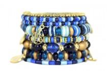 Bracelet manchette longue femme