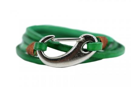 Bracelet  en cuir véritable