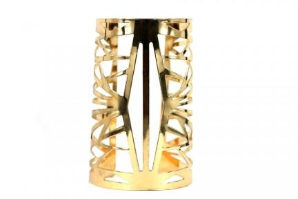 Bracelet manchette en métal rigide