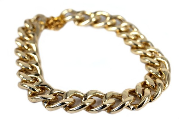 Collier maillon d'or