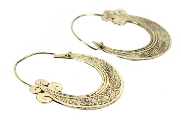 Boucles d'oreilles ethniques chic et bohème