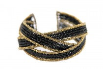 Bracelet design pour homme et femme doré de créateur