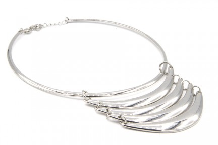 Collier ethnique argent tribal