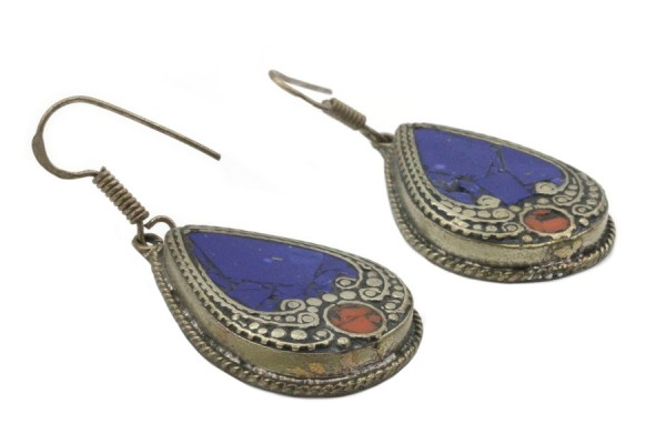 Boucles d'oreilles hmong