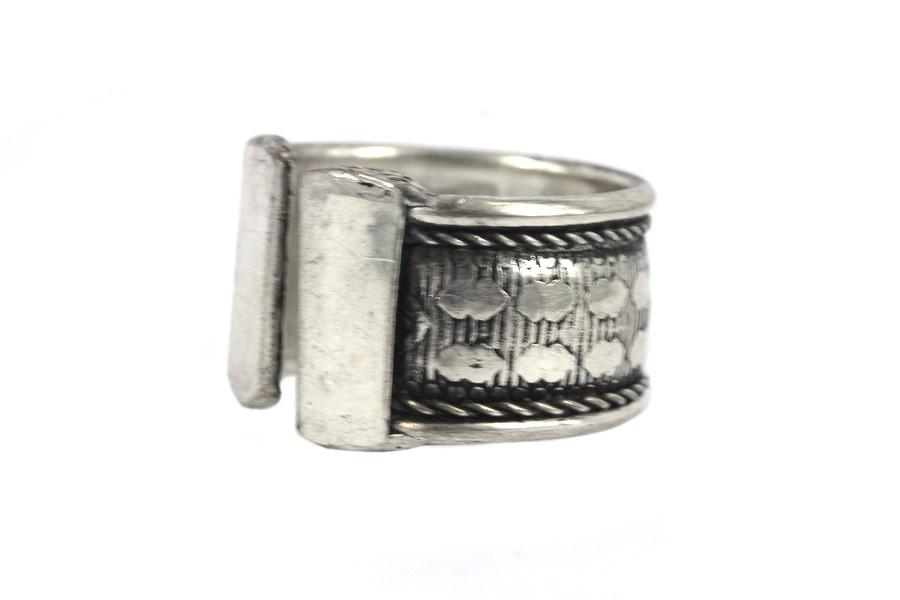 befc478a389 Bague homme métal argent pas cher