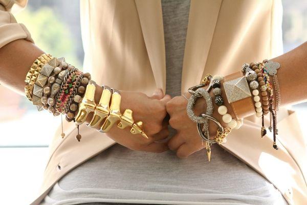 comment porter bracelet