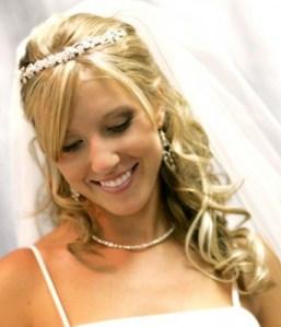 bijoux et robe de mariage