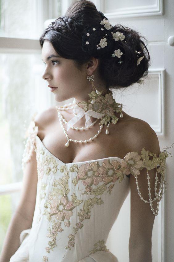 comment porter collier de perles