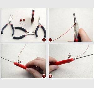 Comment fabriquer ses bijoux bijoux ch rie - Creer ses boucles d oreilles ...