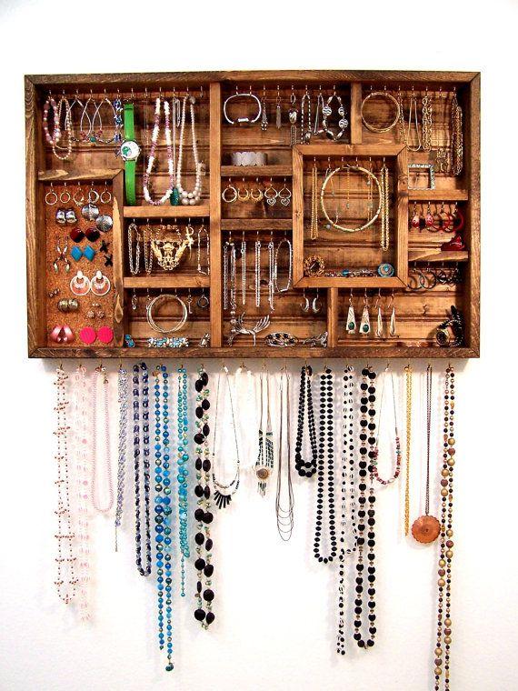 boite pour ranger ses bijoux pour tiroir ou organisateur mural. Black Bedroom Furniture Sets. Home Design Ideas