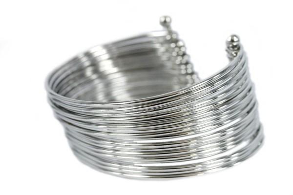 bracelet metal argent