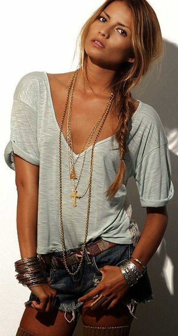 bijoux pour cheveux longs