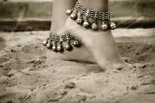 bracelet cheville pied