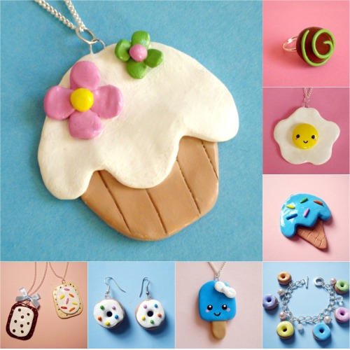faire bijoux gourmands pate fimo