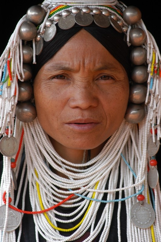 bijoux ethniques akha