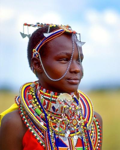 bijoux ethniques massai