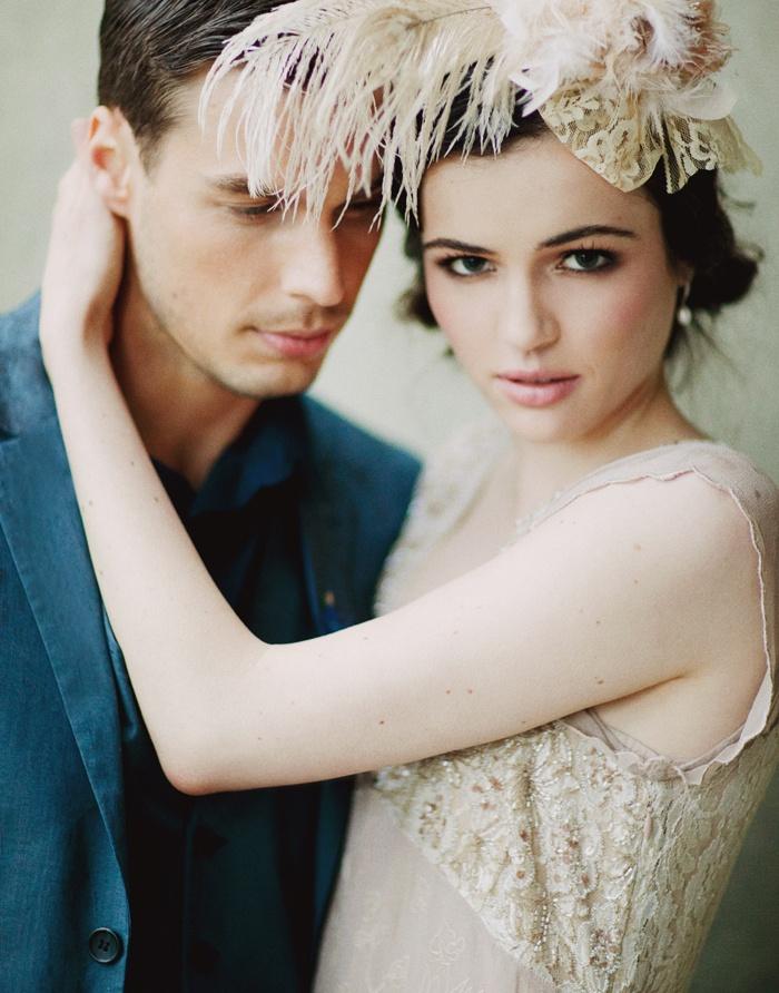 bijoux plumes mariage