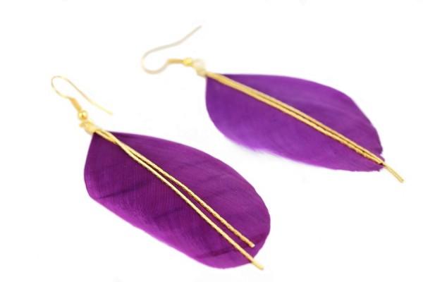 creation bijoux plumes