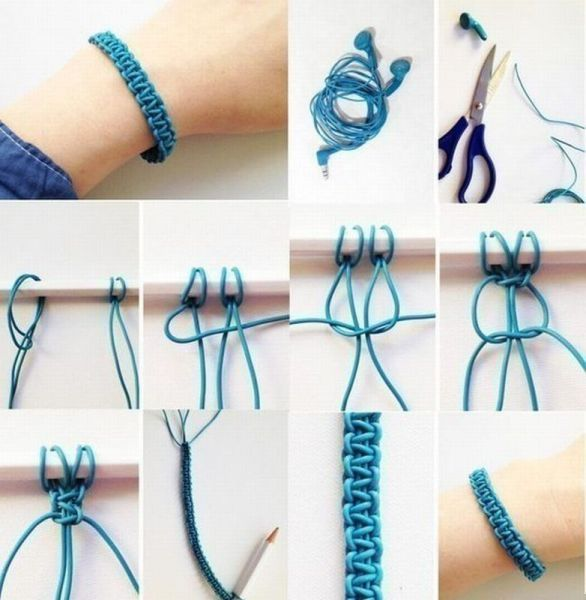 fabriquer bracelet macrame