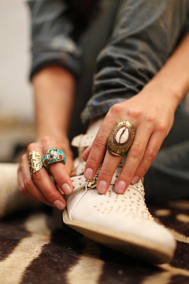 bijoux erhniques coquillages