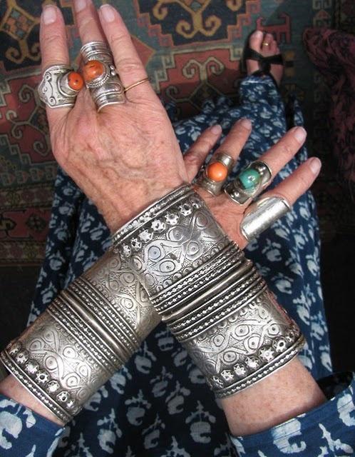 bijoux ethnique metal