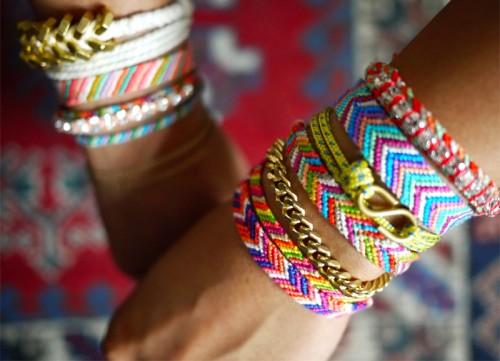 bracelet bresilien signification Un bracelet porte,bonheur