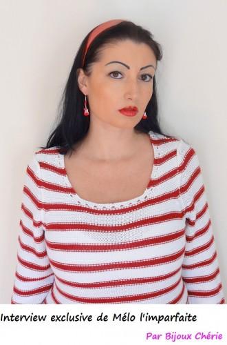 Blog mode Melo l'imparfaite  belle marinière rouge blanc