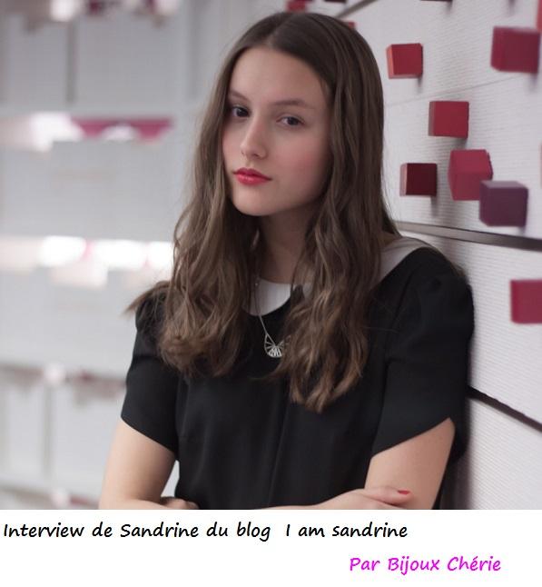 IamSandrine portrait
