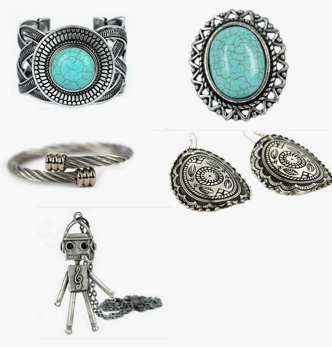 bijoux metal martele
