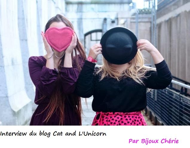 cat and l unicorn blog mode