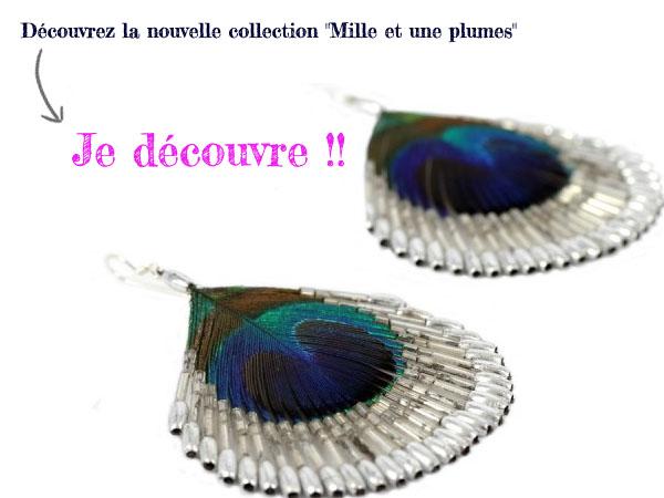 bijoux en plumes nouveautes