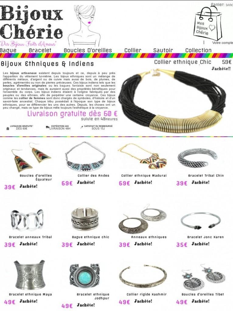 bijoux ethniques chic artisanaux