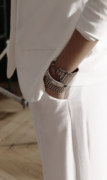 comment porter bracelet argent