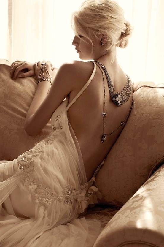 Bijoux de dos pour mariage
