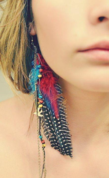 Boucles oreilles en fonction carnation du visage