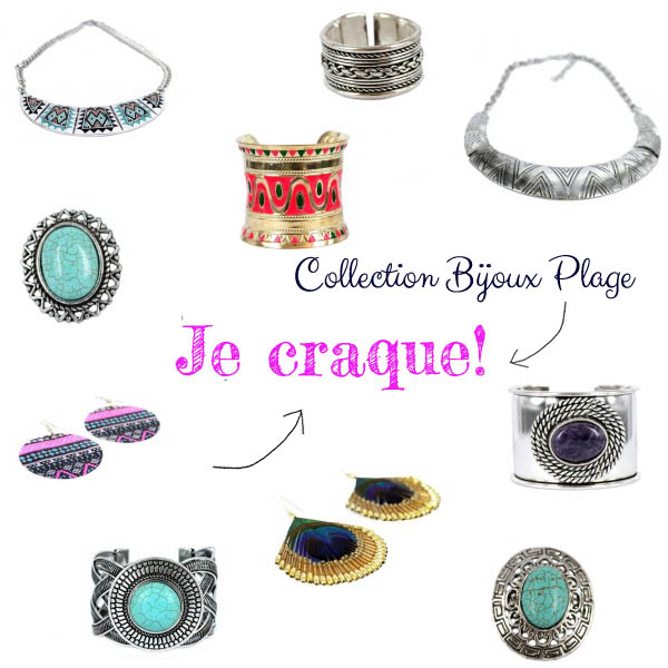 collection bijoux plage