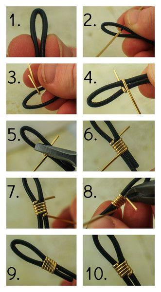 comment terminer un collier