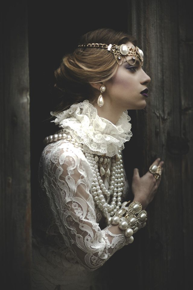 bijoux baroque femme