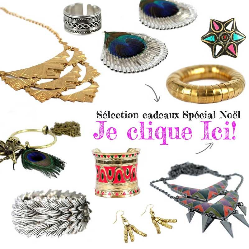 cadeau noel bijoux femme