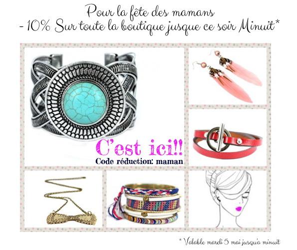 code promo bijoux cherie