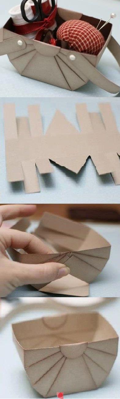 comment fabriquer une boite bijoux en carton bois facile et originale. Black Bedroom Furniture Sets. Home Design Ideas