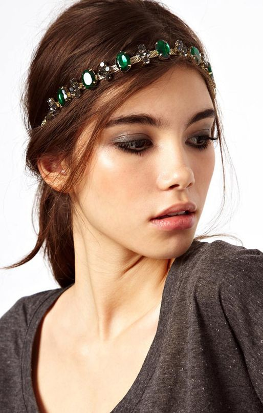 Comment porter un headband bijou